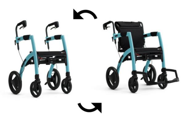 Rollz Motion - Walking Frame & Wheelchair